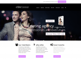 Elite Introductions WordPress website
